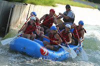 Rafting at theWhite wagter Center incharlotte