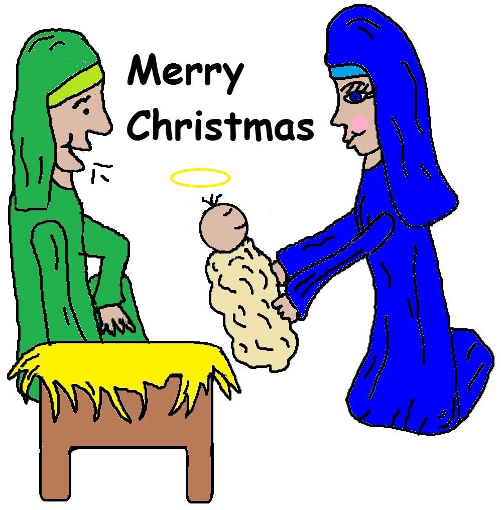 clipart christmas jesus - photo #16