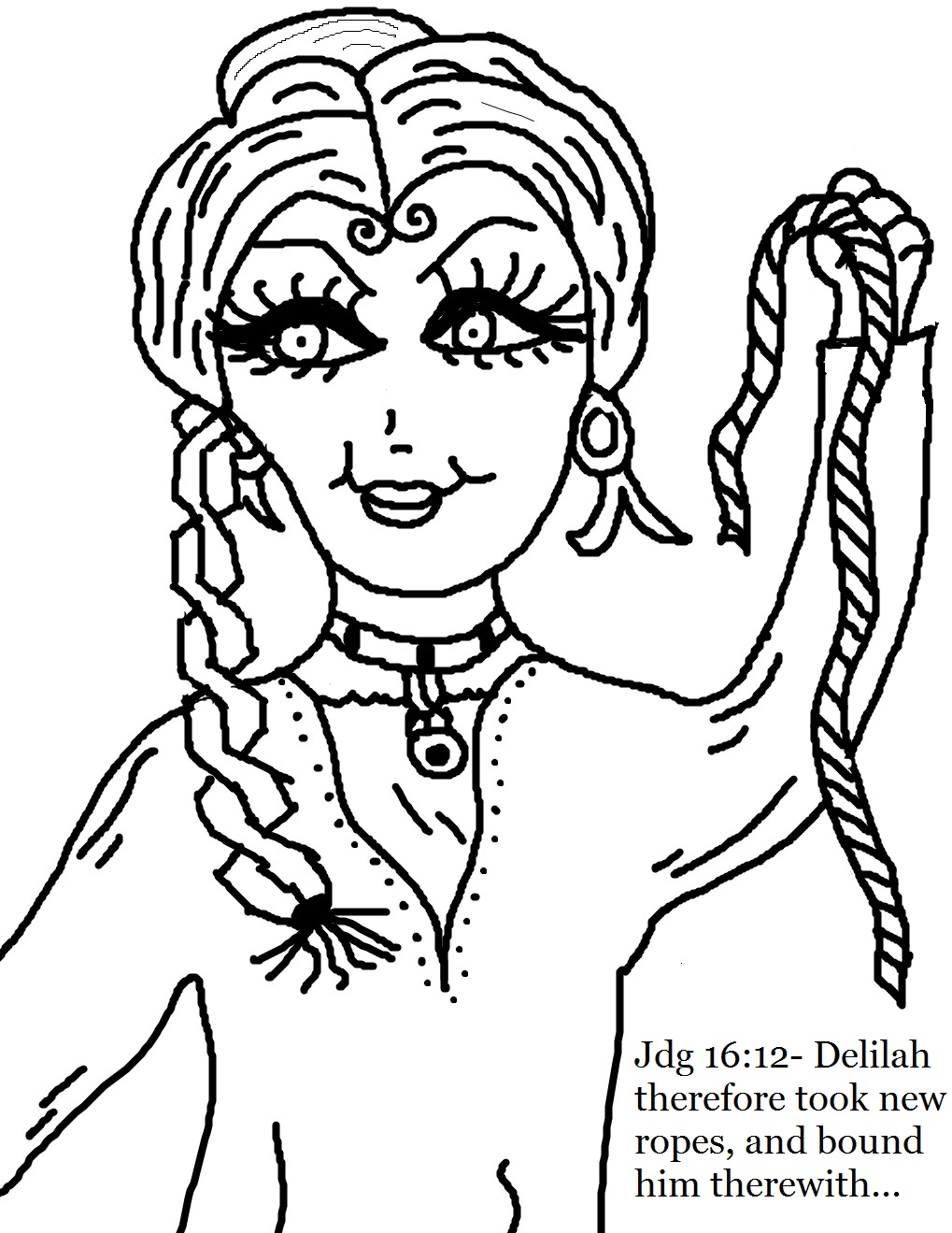 - Church House Collection Blog: Samson And Delilah Coloring Pages
