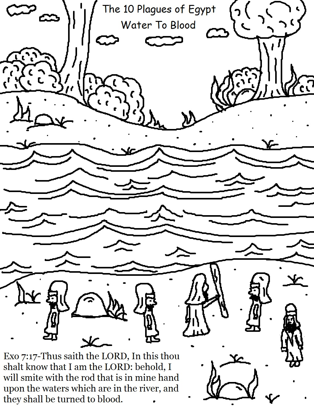 church house collection blog the 10 plagues of egypt coloring pages