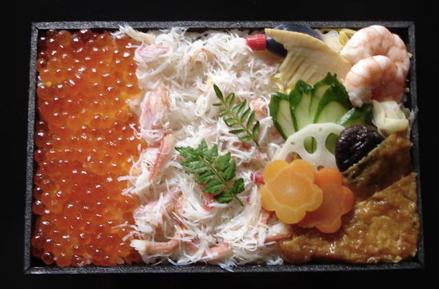 [Hina+Matsuri+Crab+Bento]