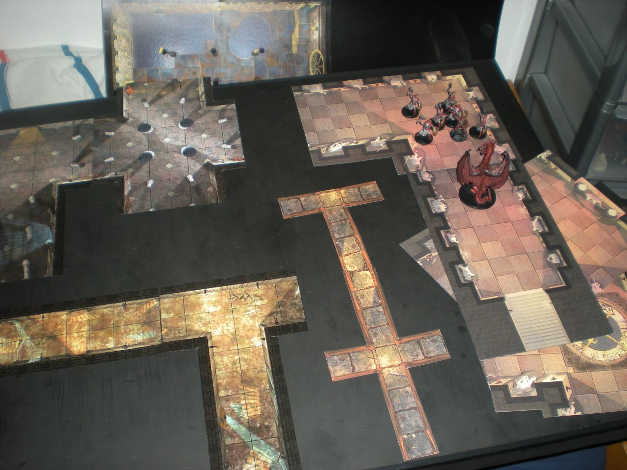 Terrible image with d&d printable terrain