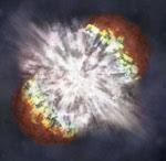 سوبرنوفا - نجم عملاق متفجر