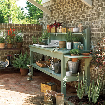 Swell Potting Benches Plans Pabps2019 Chair Design Images Pabps2019Com