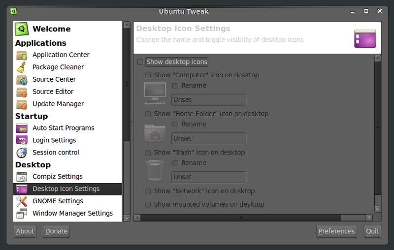 How to Hide Desktop Icons in Ubuntu | TechSource