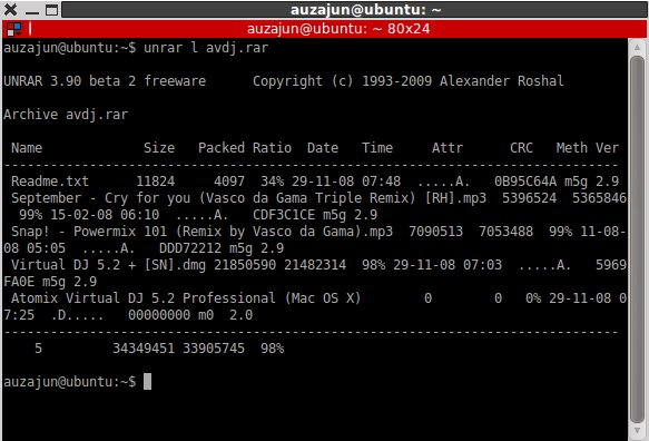 How to Open/Extract RAR files in Ubuntu Linux | TechSource