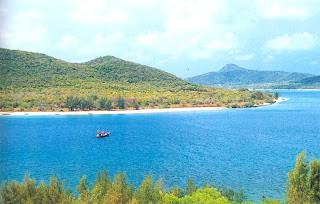 The scenery of Koh Rad