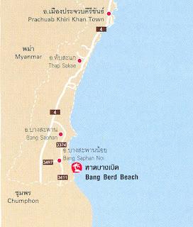 Bang Berd Beach Map at thailand-beach.blogspot.com