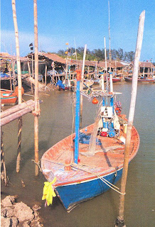 Fisherman village at Puek Tien Beach