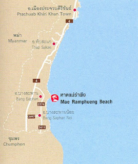 Mae Ramphueng Beach-Bo Thong Lang Bay Map at thailand-beach.blogspot.com