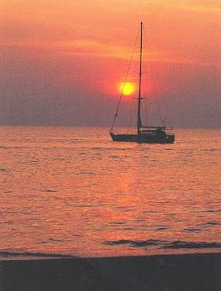 Sunset at Jomtien Baech