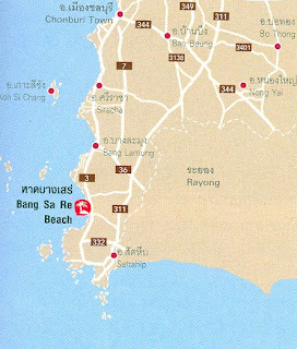 Bang Sa Re Beach Map at thailand-beach.blogspot.com