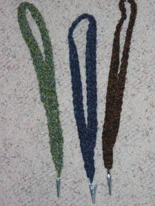 Badge Holder - Free Crochet Pattern