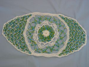 Donnas Crochet Designs Blog of Free Patterns: Beaded Oval ...