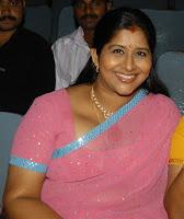 Tamil Actress Kavitha Aunty massive boobs - real show