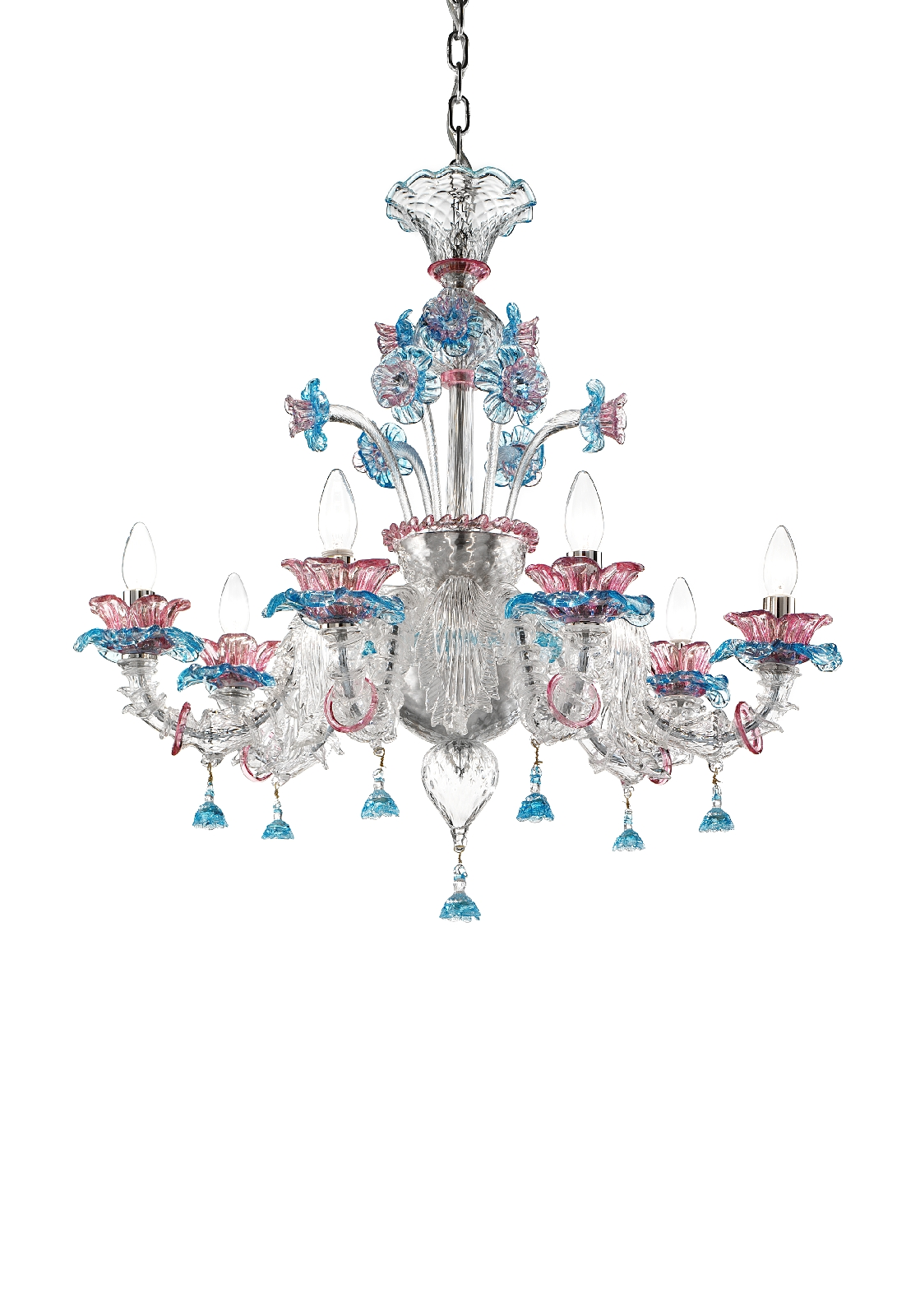 lampadari in vetro di murano murano blown glass chandelier lustre en verre de murano dicembre. Black Bedroom Furniture Sets. Home Design Ideas