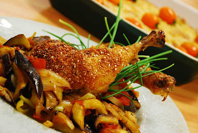 patlıcanlı tavuk