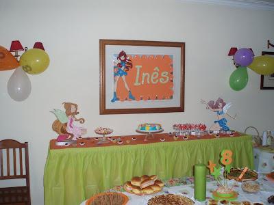 Tema para festas das Winx Winx+25
