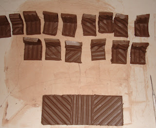 textured test tiles
