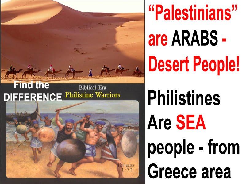 The Speedy Media: Palestinians VS Philistines