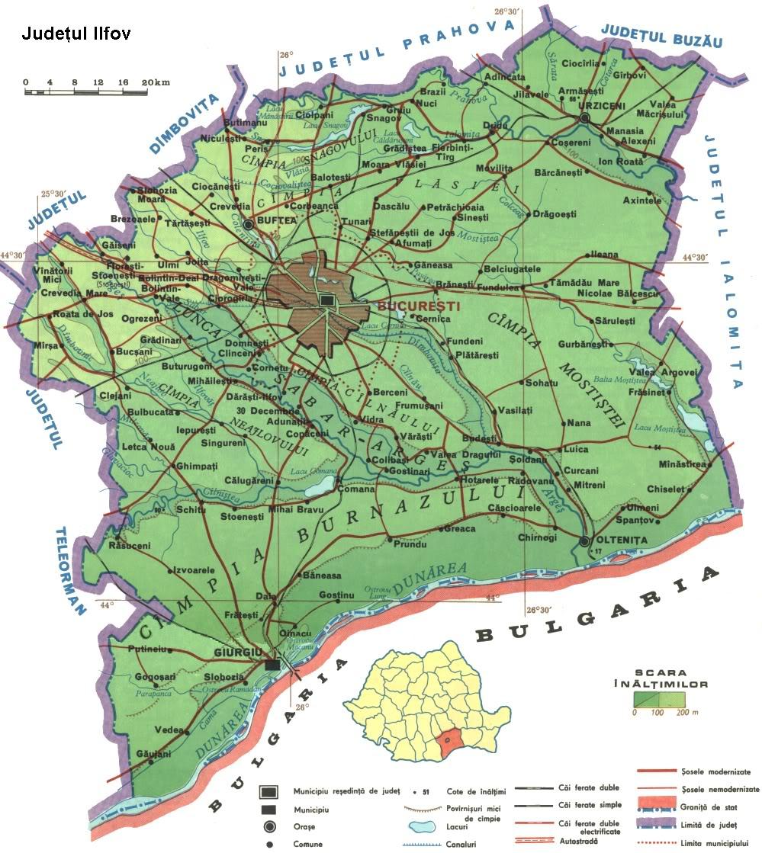 Romania Live Harta Rutiera Ilfov Live Webcam Balotesti Bucuresti