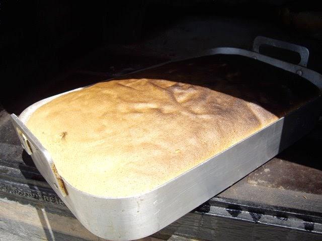 Masses dolces bizcocho de la abuela mar a en horno de le a - Como cocinar en horno de lena ...