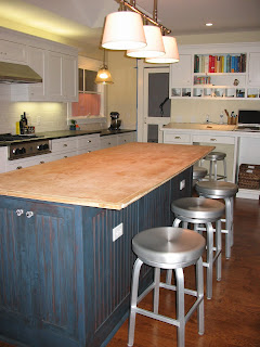 This 50 S House Kitchen Island Butcher Block Countertop