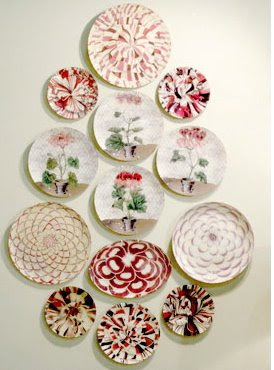 My Sweet Savannah  Decorating with Plates More and more people are using hanging plates as their kitchen decor than  any other kind of decorations including pictures  shelves  or other designs