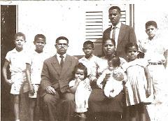 Eliel com a Familia em 1965