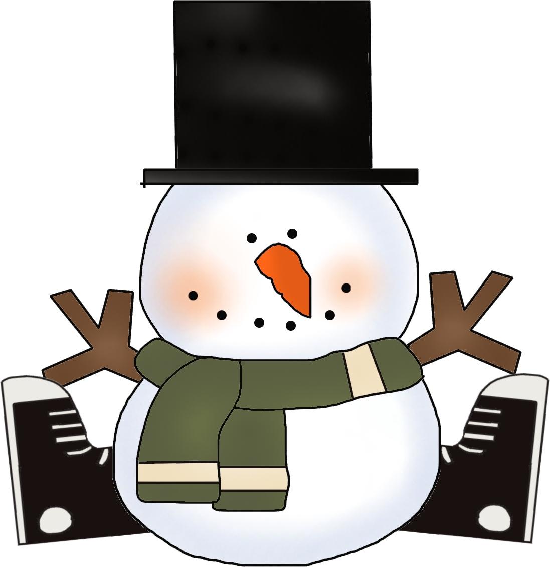 kamikazetailspin: Snowman Clipart