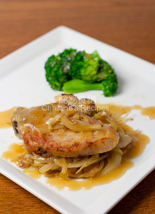 Baked Pork Chops with Caramelized Onion01