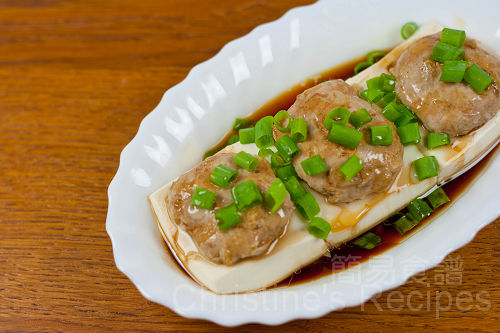 Steamed Tofu with Pork02