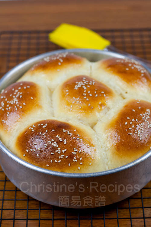 Japanese style coconut custard buns tangzhong method christines coconut custard buns01 forumfinder Choice Image