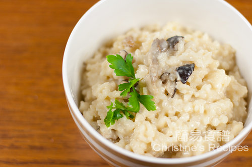 Mushrooms Risotto02