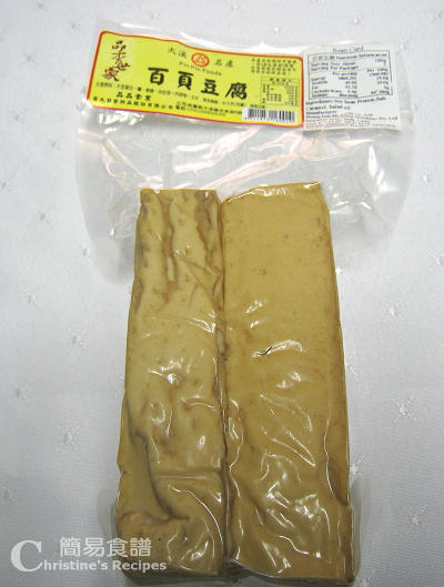百頁豆腐 Dried Tofu