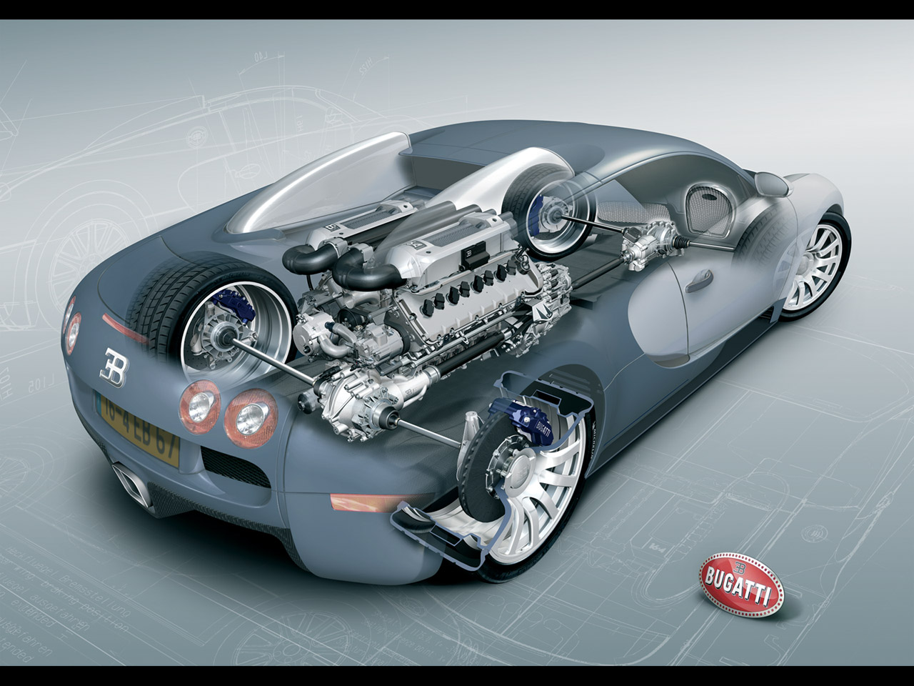 Best Car Guide, Best Car Gallery: Bugatti Veyron Engine