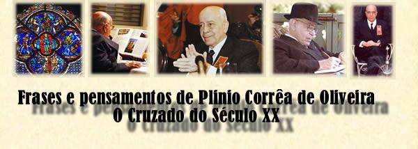 Frases e pesamentos de Plinio Corrêa de Oliveira, O Cruzado do Século XX