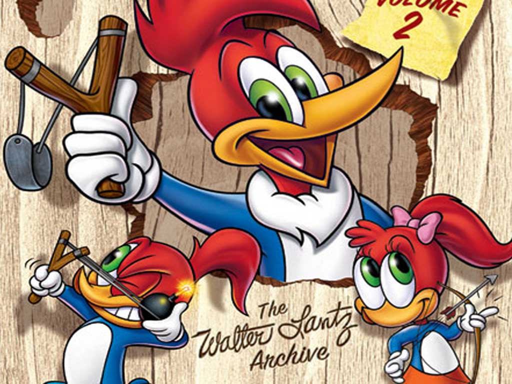 Top Cartoon Wallpapers: Woody Woodpecker Wallpaper
