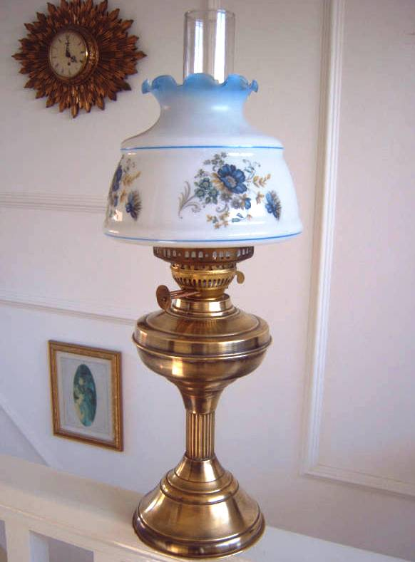 For Old Time S Sake Duplex Brass Working Oil Lamp