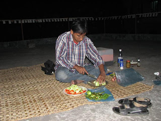 Jashim is preparing the salad. He likes salad so much; specially tomato