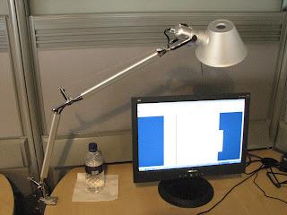 I robot lamp