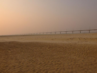 Another view of the Jamuna bridge