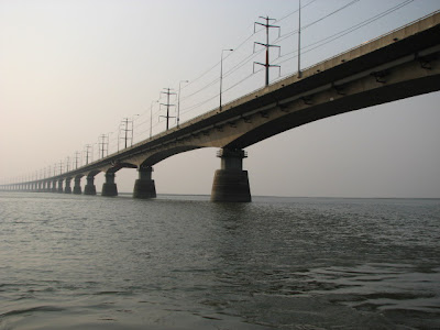 The Jamuna Bridge - the longest bridge of Bangladesh