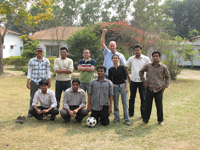 Here is the wining team of the football match