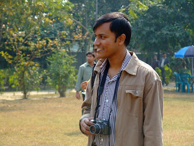 Photographer Shahid :D Doesn't he look like a professional