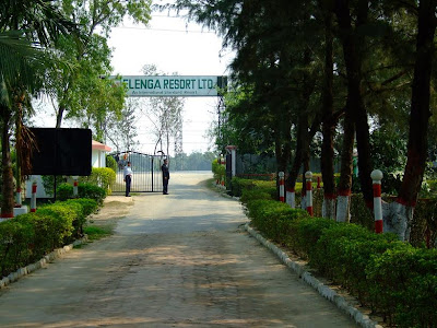 Entrance of Elenga resort