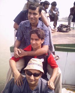 Me with shujon, khalid & Jashim