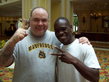 Brad Cooney and friend Edner Cherry