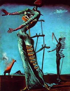 Resultado de imagen para Girafa em chamas (1937) dali
