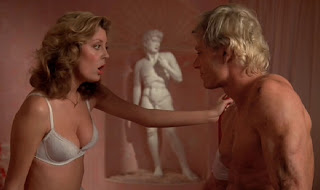 Susan Sarandon y Peter Hinwood en The Rocky Horror Picture Show